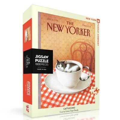 New Yorker Jigsaw Puzzle (Cattuccino) 1000 pce