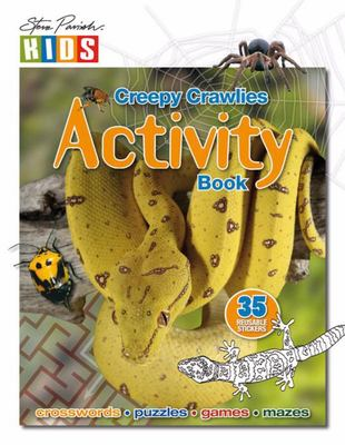 Creepy Crawlies Sticker Activity Book
