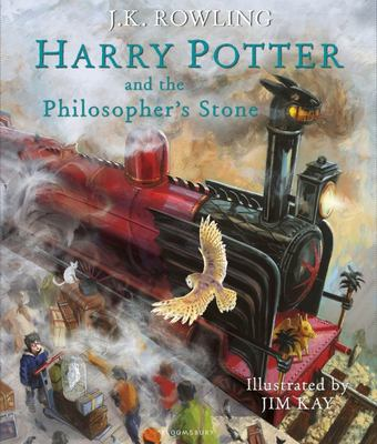 Harry Potter and the Philosopher's Stone (Illustrated Edition #1)