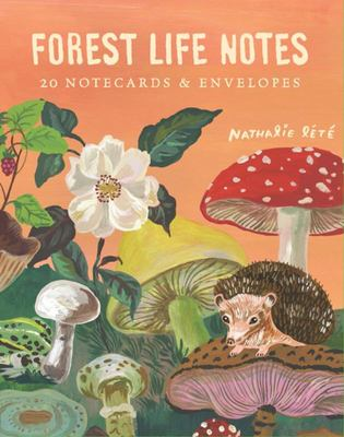 Forest Life Notes : 20 Notecards & Envelopes