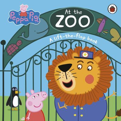 Peppa Pig At the Zoo (Board)