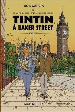 Card – TinTin in Baker Street
