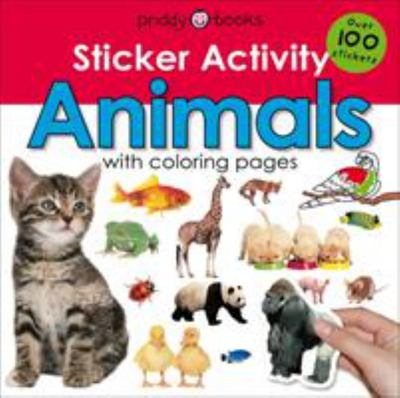 Early learning Sticker activity animals