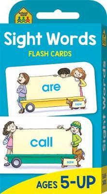 Sight Words (School Zone Flashcards)