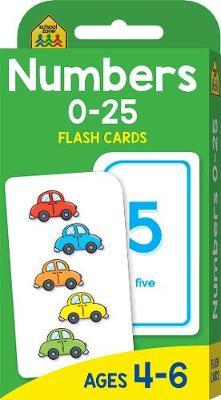 Numbers 0-25 (School Zone Flashcards)