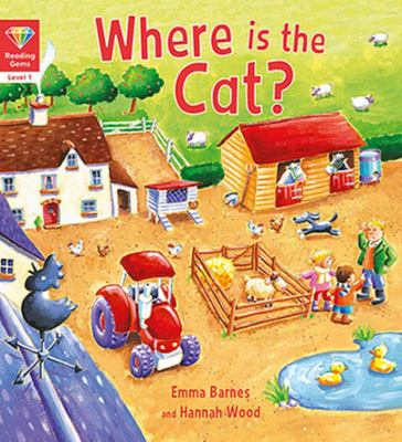 Reading Gems: Where Is Cat? (Level 1)