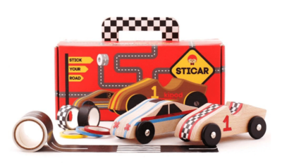 Sticar - Wooden Car set