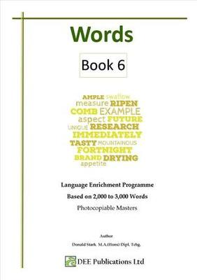 Words Book 6 Photocopiable Masters & Answers