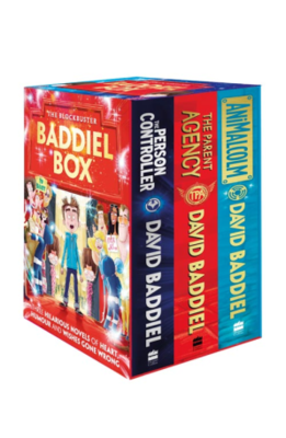 The Blockbuster Baddiel Box (The Parent Agency, The Person Controller, Animalcom)