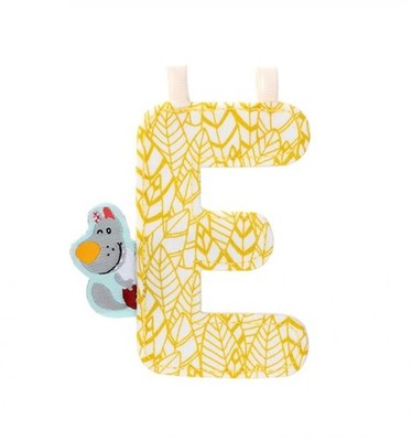 E - Fabric Hanging Letter 9.5cm