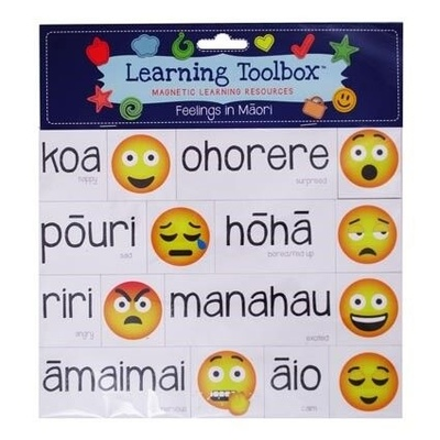 Feelings in Maori (Magnetic Learning Resources)