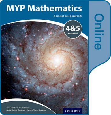 MYP Mathematics 4 & 5 Extended Online Course Book Code Card