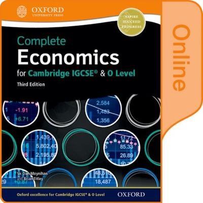 Complete Economics for Cambridge IGCSE and O-Level Online Student Book 3rd Edition