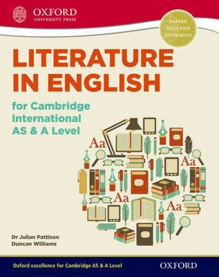 Literature in English for Cambridge International AS and a Level