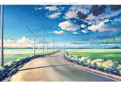 A Sky Longing for Memories - The Art of Makoto Shinkai