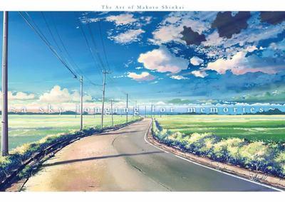 A Sky Longing for Memories - The Art of Makoto Shinkai