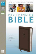 NIV Thinline Bible Duotone Chocolate