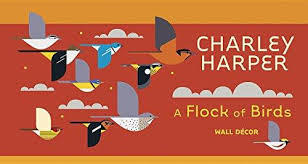 Charley Harper - A FLOCK OF BIRDS WALL DECOR