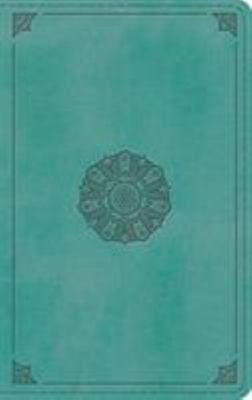 ESV Thinline Bible (Trutone, Turquoise, Emblem Design)