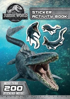 Jurassic World - Fallen Kingdom Sticker Activity Book