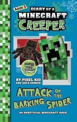 Diary of a Minecraft Creeper #3 (Attack of the Barking Spider)