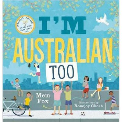 I'm Australian Too (HB Includes Poster)