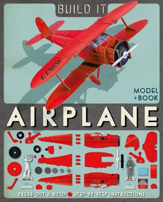 Build It: Airplane (Model & Book)
