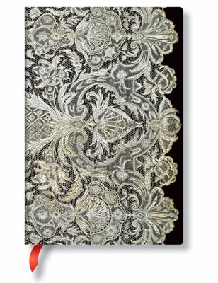 Paperblanks - Lace Allure, Ivory Veil, Mini, Lin