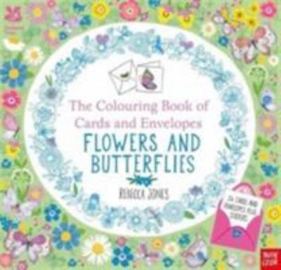 Flowers and Butterflies: The Colouring Book of Cards and Envelopes (National Trust)