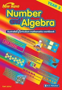 New Wave Number and Algebra Workbook Year 3 - NZ Year 4 (Ages 8-9) - RIC-6108