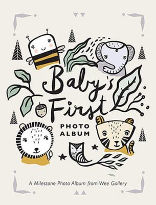 Baby's First Photo Album  A Milestone Photo Album from Wee Gallery
