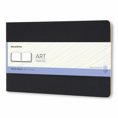 Art Cahier Large Sketch Black - Moleskine