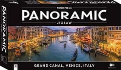 Grand Canal, Venice, Italy (Panoramic Puzzle 1000 piece jigsaw)