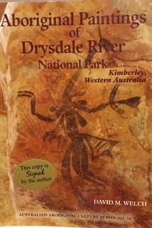 Aboriginal Paintings of Drysdale National Park Kimberley Western Australia