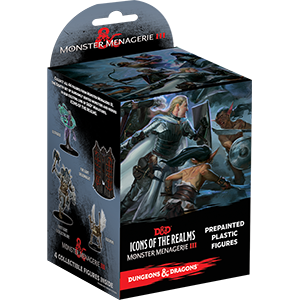 Dungeons & Dragons Icons of the Realm Monster Menagerie 3 Booster Brick