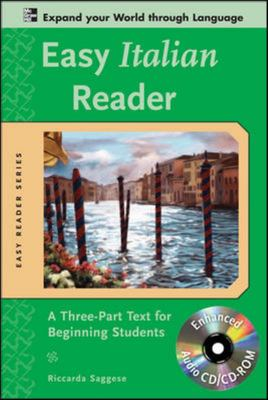 Easy Italian Reader - A Three-Part Text for Beginning Students