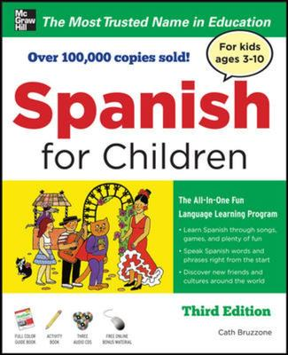 Spanish for Children Pack (1 Guidebook, 1 Activity Book, 3 Audio CD's)