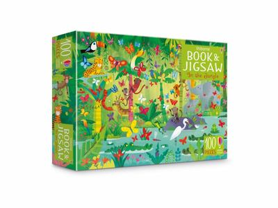 Usborne Book and Jigsaw: In The Jungle
