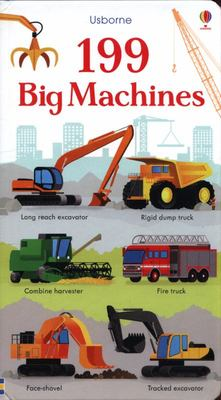 199 Big Machines (Board Book)