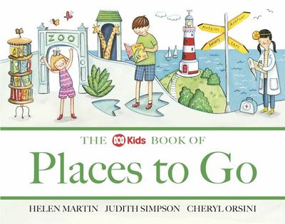 The Kids ABC Book of Places to Go
