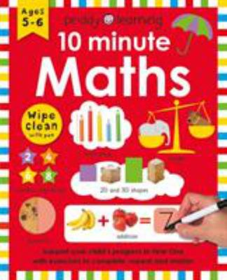 10 Minute Maths - Wipe Clean Workbooks
