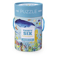 Thirty Six Ocean Animals Tube Puzzle (100 pc)
