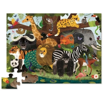 Jungle Friends 36pc Floor Puzzle