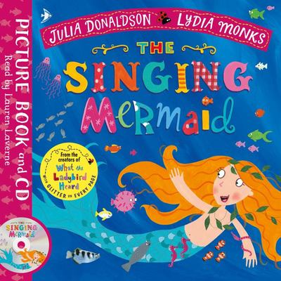 The Singing Mermaid (Book and CD)