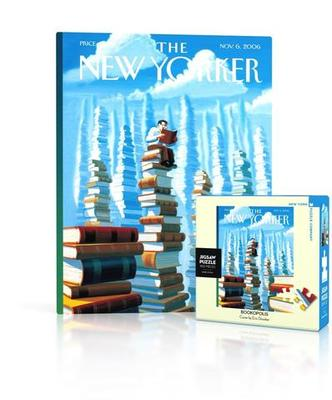 Bookopolis - New Yorker Jigsaw Puzzle - 100 pieces