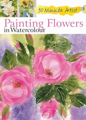 Painting Flowers in Watercolour 30min artist
