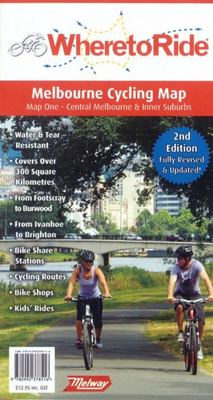 Where to Ride Melbourne Map 2nd Edition
