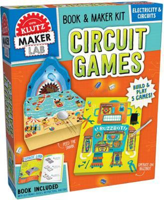Circuit Games: Build and Play 5 Games! (Klutz)