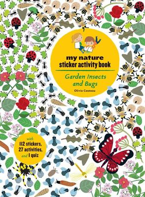Garden Insects and Bugs - My Nature Sticker Activity Book