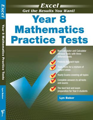 Excel Yr 8 (NZ Yr. 9) Mathematics Practice Tests